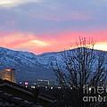Reno At Night by Phyllis Kaltenbach