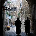 Residents Of Jerusalem Old City by Eva Kaufman