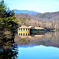 Restaurant Over Looking The Lake In North Carolina by Heather Nicole Williams