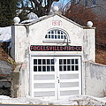 Retired Fire Station by Kathy Gibbons