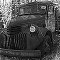 Retired Rusty Relic Farm Truck by John Stephens