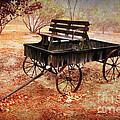 Retired Wagon 2 by Leslie Kinney