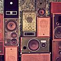 Retro Speakers by Ariane Moshayedi