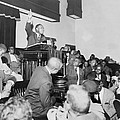 Rev. Martin Luther King, Jr., Speaking by Everett