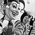 Rex Mardi Gras Parade Xi Bw by Steve Harrington