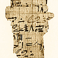 Rhind Papyrus by Photo Researchers