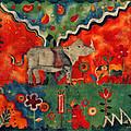 Rhino by Sandra Kern
