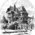 Rhode Island: Villa, 1876 by Granger