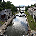 Rideau Canal And Locks - Ottawa by Christiane Schulze Art And Photography