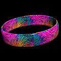Ring Of Feathers 3d by Steve Purnell