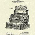 Ringold Cash Register 1904 Patent Art by Prior Art Design