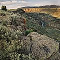 Rio Grande Gorge Above Taos Junction Bridge by Ron Weathers