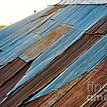 Rippled Roof  by Anjanette Douglas