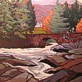 River Dochart Killin by Edward Abela