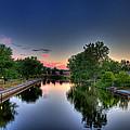 River Or Harbour by John Herzog