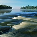 River Rapids by Dave Reede