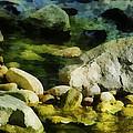 River Rocks 3 by Francesa Miller