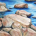 River Rocks by Lyn DeLano