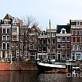 River Scenes From Amsterdam by Carol Ailles