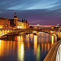 River Seine And The Concierge by Brian Jannsen