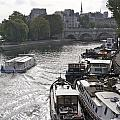 River Seine. Paris by Bernard Jaubert