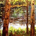 River Trees by John  Nolan