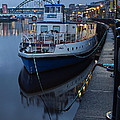 River Tyne Cruise Ship by David Pringle