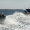 Riverine Command Boats And Security by Stocktrek Images