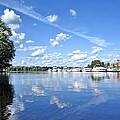Riverside Marina by Mark Sellers