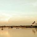 Riverside Sunset by Stefan Nielsen