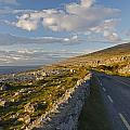 Road Along The Burren Coastline Region by Trish Punch