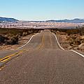 Road To Kelso Dunes by Dennis Hofelich