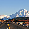 Road To Mt Ngauruhoe by Steve Clancy Photography