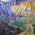 Road To Rainbow Gulch by Gertrude Palmer