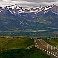 Road To The Sangre De Cristos by Peggy Starks