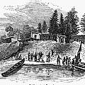 Roanoke: Colony, C1587 by Granger