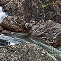 Roaring River Falls by A A