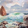 Roaring Waves by Aileen Markowski