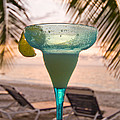 Roatans West Bay, Tropical Drink by Richard Nowitz