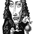 Robert Boyle, Caricature by Gary Brown