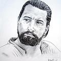 Robert De Niro In The Mission by Jim Fitzpatrick