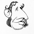 Robert Fitzroy, Caricature by Gary Brown