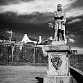 robert the bruce statue at stirling castle Scotland UK by Joe Fox