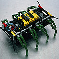 Robot Spider Constructed From Lego by Volker Steger