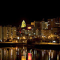 Rochester By Night by Don Anderson