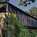 Rock Creek Road Covered Bridge by At Lands End Photography