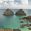 Rock Formation In Fernando De Noronha by © Jackson Carvalho