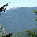 Rock Formation On The Ridge by Linda Hutchins