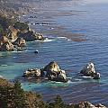 Rock Formations Along The Coast Big Sur by Stuart Westmorland