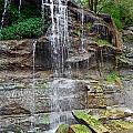 Rock Glen Falls 9 by Cyryn Fyrcyd